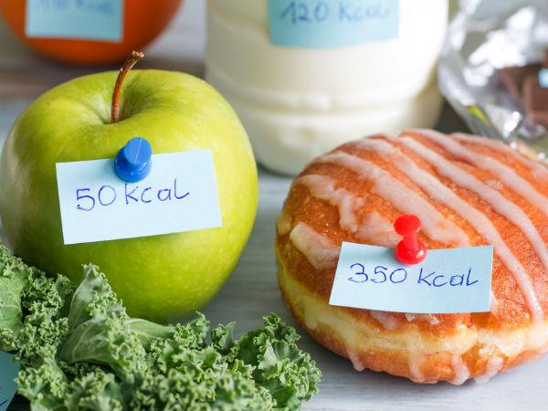 ingestao de calorias